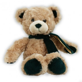 Hunter Green Velvetina Bear - 12