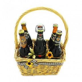 Six Beer Beer Basket