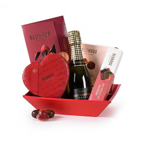 Neuhaus Love Leather Hamper