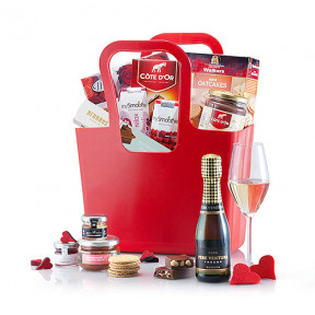 Sparkling Brunch Gift In Koziol Tote