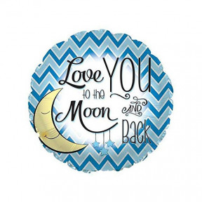 Love You To The Moon Balloon