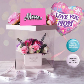 Flowers For Mom Gift Box