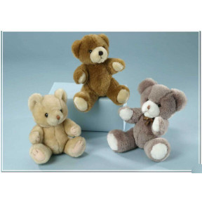 Teddy Bears In 3 Colors
