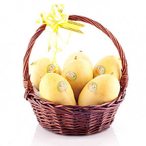 Basket Of Tjc Mangoes