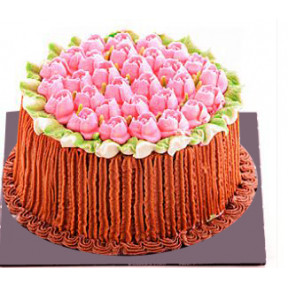 Kapruka Bloom Of Roses Cake