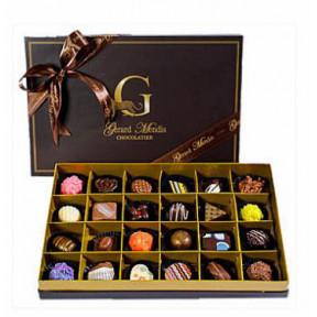 24 Piece Chic Paperboard Chocolate Box(Gmc)