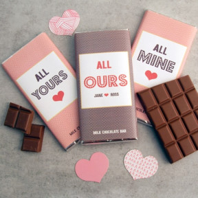 Chocolate Bar Trio To Share