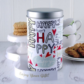 Gift In A Tin - Happy