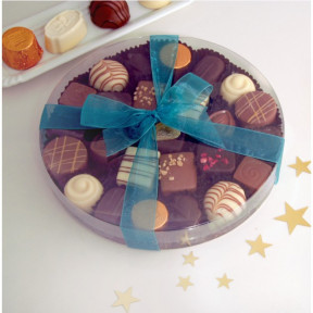 Chocolate Assortment - Large Round Gift Box