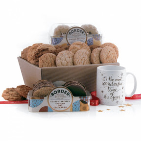 It's The Most Wonderful Time of the Year Biscuit Hamper