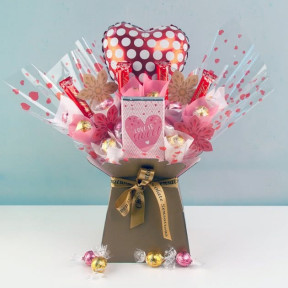 Polka Dots And Sweetness Chocolate Bouquet