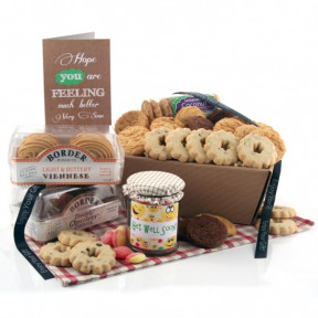Biscuit Favourites Hamper - GET WELL
