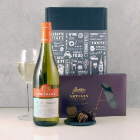 Chardonnay Wine Chocolates Gift Box
