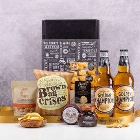 The Golden Champion Beer Gift Box
