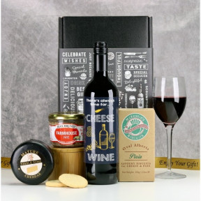 Always Time for Cheese and Wine Hamper