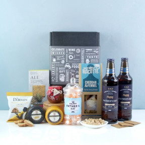Happy Father's Day Beer & Savouries Hamper
