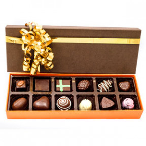 Velvet Fine Chocolates ' Assorted Box 12 Pieces