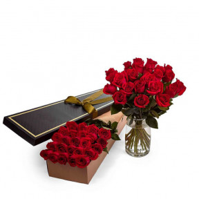 Roses - Red - 24 Stems
