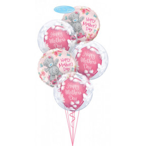 20 Inch-51cm Deco Bubble Butterflies and Flowers