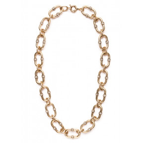 Gold Exquisite Chain Statement Necklace