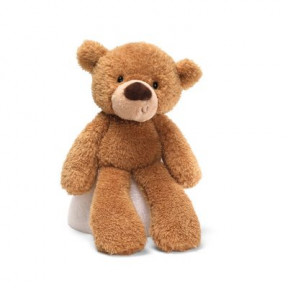 Gund Fuzzy Beige Bear 15 Inches