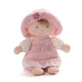 Baby Gund My 1st Dolly 7 Inches Small Brunette