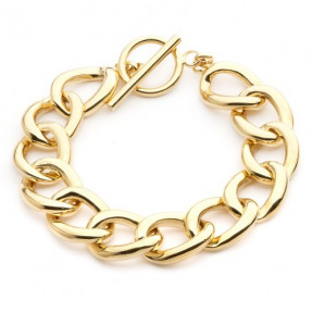 Linked Chain Bracelet Gold Plated