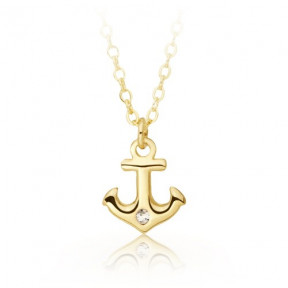 Anchor of Life Pendant Gold Plated