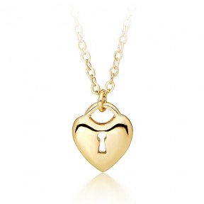 Lock of Hearts Designer Pendant Gold Plated