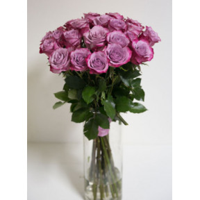Purple roses - bouquet of roses, 60 cm roses (Large)