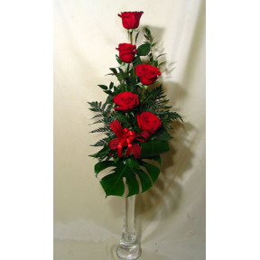 Classic red! - Rose Bouquet (Medium)