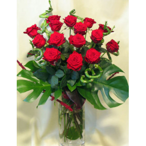 Red Rose Bouquet - flower delivery (Medium)