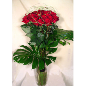 to love !!! - Red Rose Bouquet (Large)