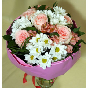 Sweet Pink - rose bouquet (Medium)