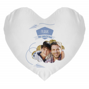 Father's Day pillow - Heart