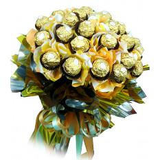Golden Ferrero Bouquet