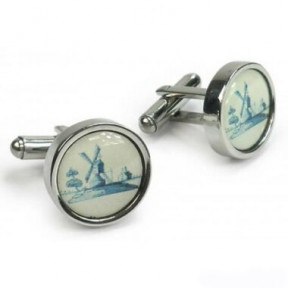 Cufflinks Dutch Mill in giftbox