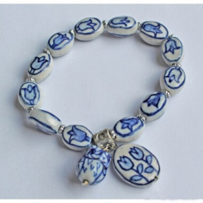 Bracelet delftblue AN08