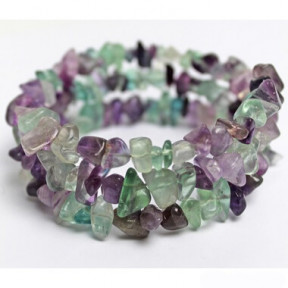 Bracelet Fluorite and Amethist
