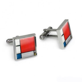 Cufflinks Mondrian, in gift box