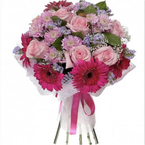 The Pink Love Bouquet ?
