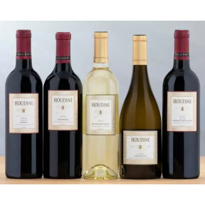 Houdini Napa Valley Red and White Wine Collection