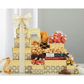 Lindt Chocolate and Sweets Gift Tower