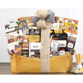 The V.I.P. Gourmet Gift Basket