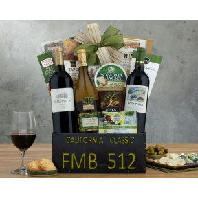 California Classic Trio Gift Basket