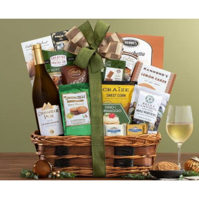 Crossridge Peak Chardonnay Bon Appetit Wine Basket