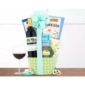 Edenbrook Vineyards Cabernet Wine Gift Basket