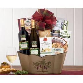 Blakemore Winery Double Delight Wine Basket