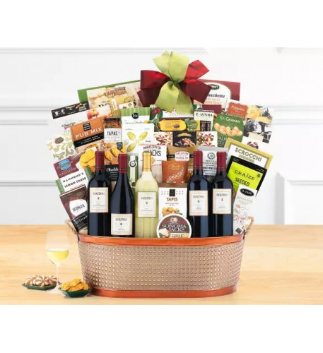 Houdini Napa Valley Collection Wine Basket