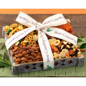 Wine Country Orchards Mixed Nut Gift Tray